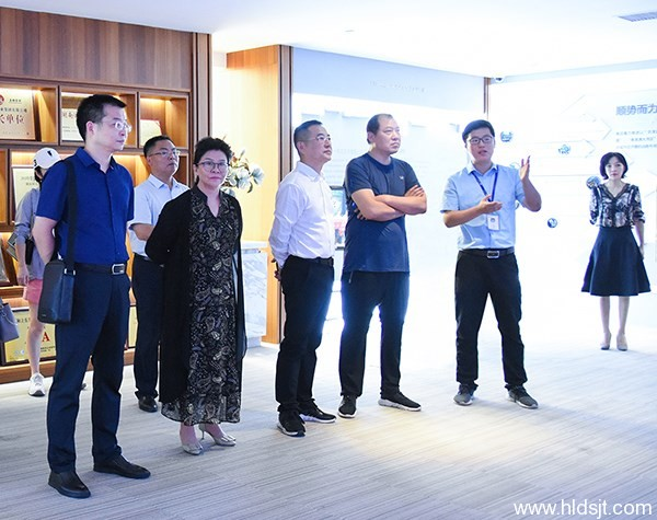 【新湖南】大发手机移动版总部経済产业获省、市发改委点赞